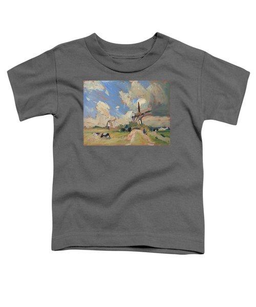 Two Windmills Toddler T-Shirt