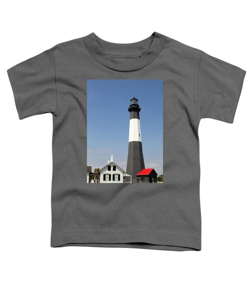 Tybee Lighthouse Georgia Toddler T-Shirt