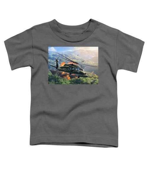 Uh-60 Blackhawk Toddler T-Shirt