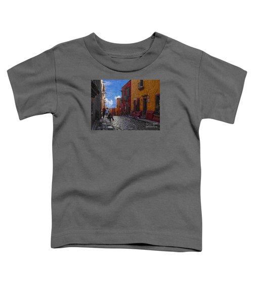 Under A Van Gogh Sky Toddler T-Shirt