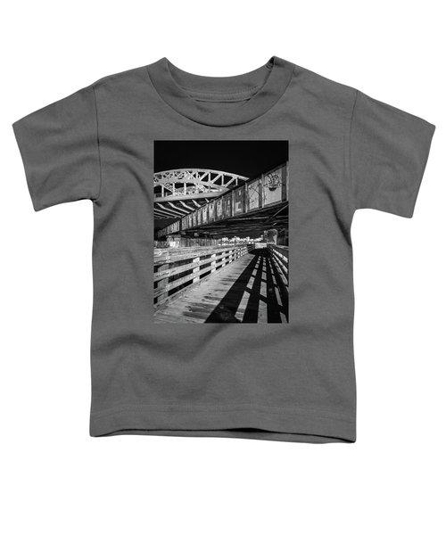 Under Boston University Bridge Toddler T-Shirt