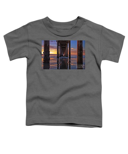 Under The Scripps Pier Toddler T-Shirt