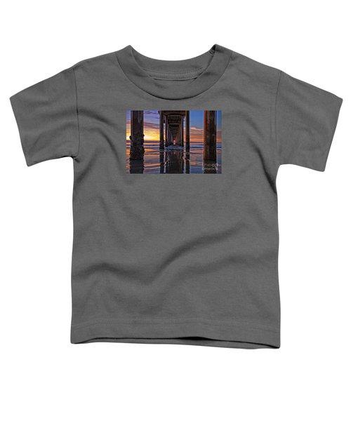 Under The Scripps Pier Toddler T-Shirt