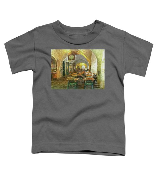 Underneath The Arches - Street Cafe, Prague Toddler T-Shirt