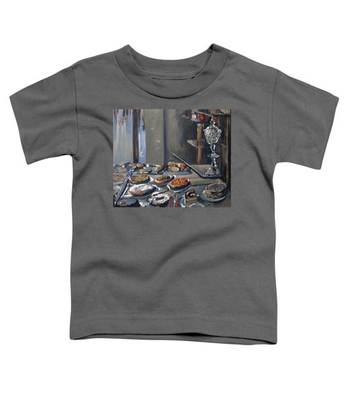 Une Coupe A Gingembre En Cristal De La Patisserie Royale A Maastricht Toddler T-Shirt