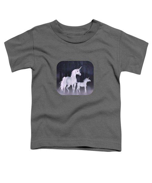 Unicorns In The Mist Toddler T-Shirt