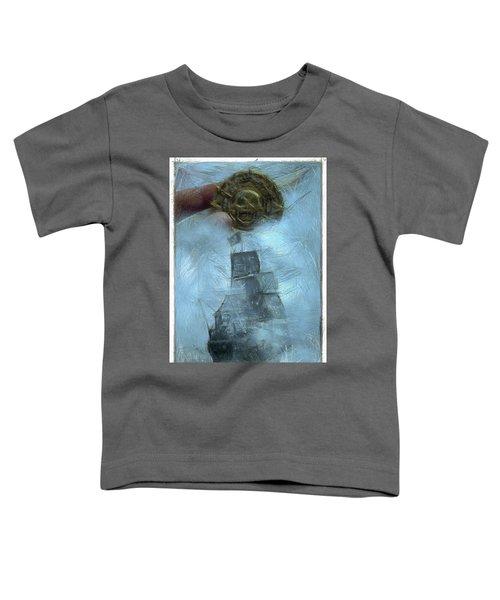Unnatural Fog Toddler T-Shirt by Benjamin Dean
