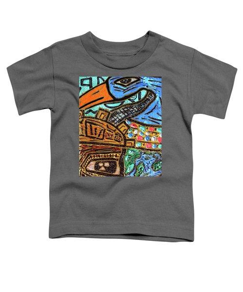 Untitled Olmec And Tehuti Toddler T-Shirt