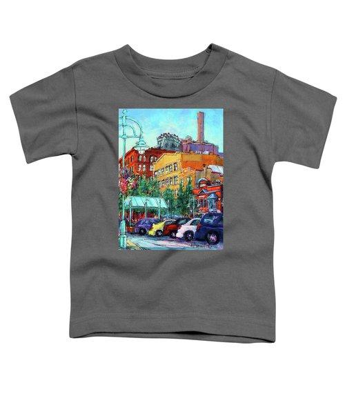 Up On Broadway Toddler T-Shirt