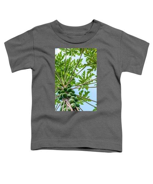 Up The Papaya Toddler T-Shirt