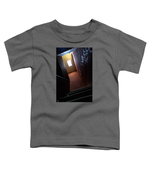 Up The Stairs Toddler T-Shirt
