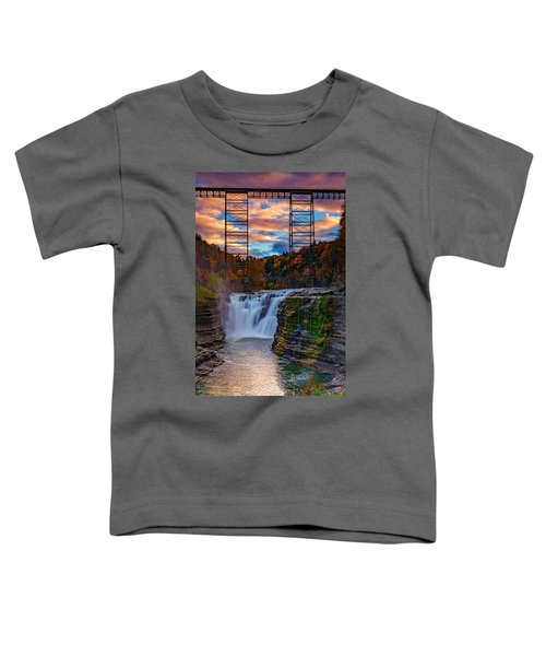 Upper Falls Letchworth State Park Toddler T-Shirt