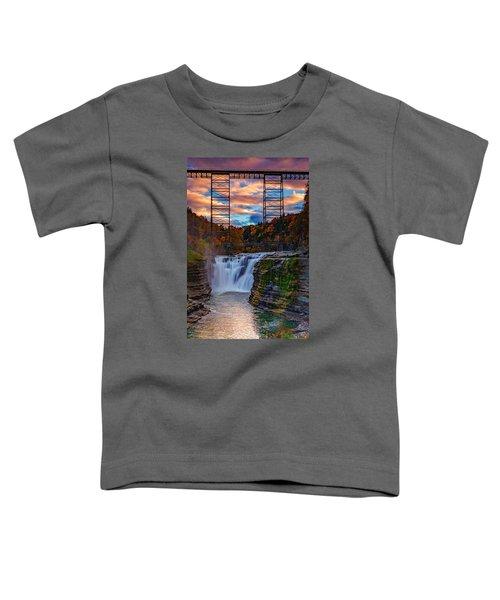 Upper Falls Letchworth State Park Toddler T-Shirt
