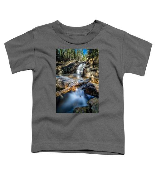 Upper Provo River Falls Toddler T-Shirt