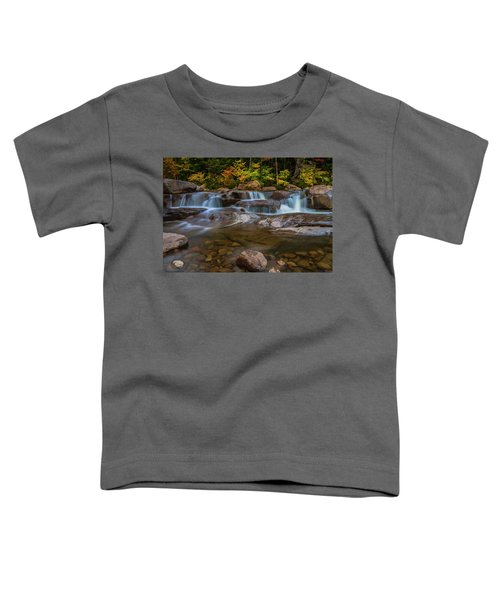 Upper Swift River Falls In White Mountains New Hampshire Toddler T-Shirt
