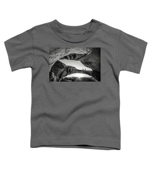 Toddler T-Shirt featuring the photograph Uranium Arch by Whit Richardson