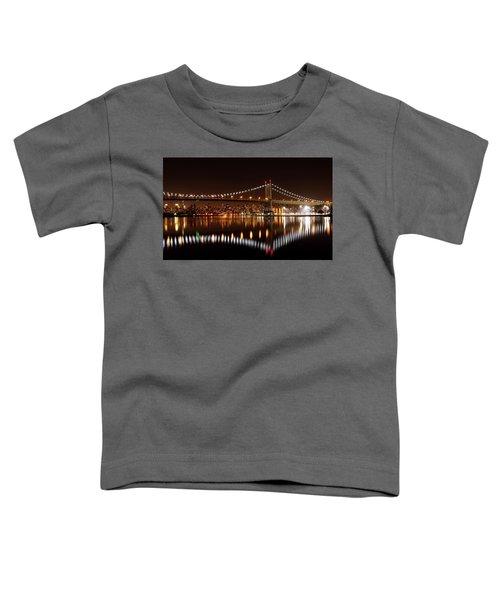 Triboro Bridge Brilliance Toddler T-Shirt