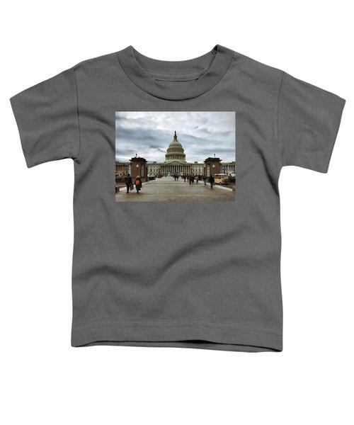 U.s. Capitol Building Toddler T-Shirt