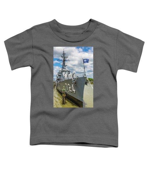 Uss Laffey Dd-724 Toddler T-Shirt