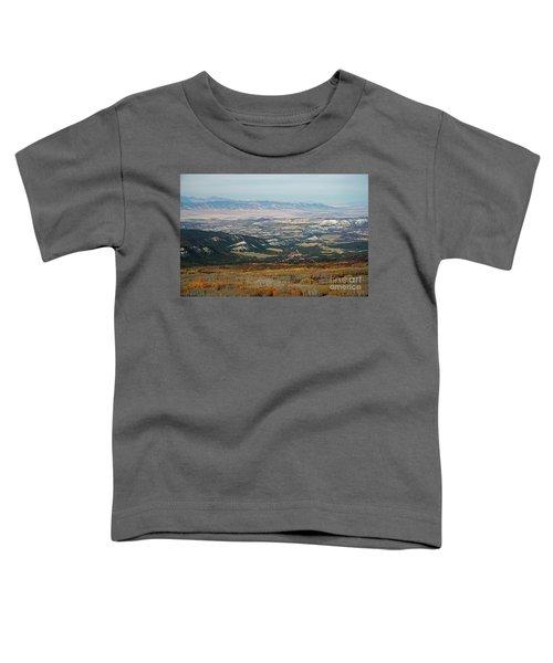 Utah A Patchwork Toddler T-Shirt