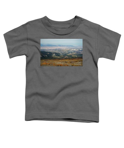 Utah A Patchwork Toddler T-Shirt