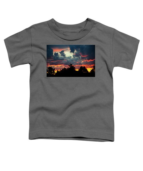 Utah Sunset Toddler T-Shirt