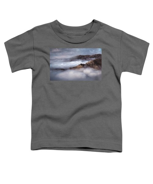 Valley In The Clouds Toddler T-Shirt