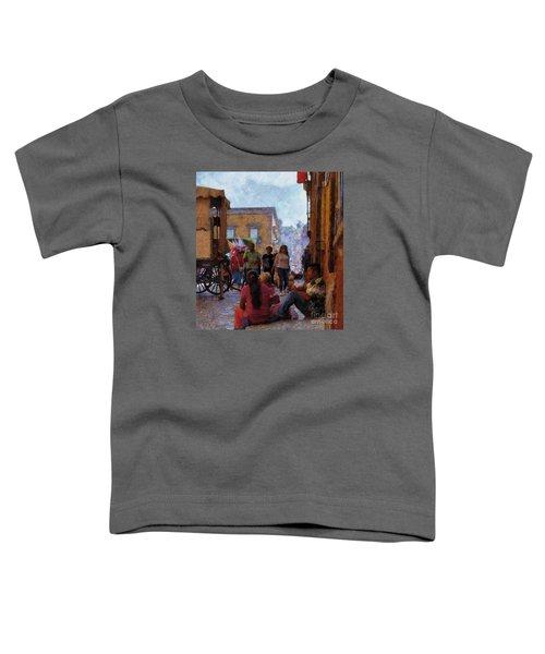 Van Gogh Visits Mexico Toddler T-Shirt