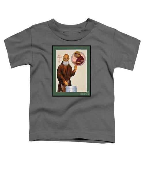 Venerable Fr. Solanus Casey The Healer 038 Toddler T-Shirt