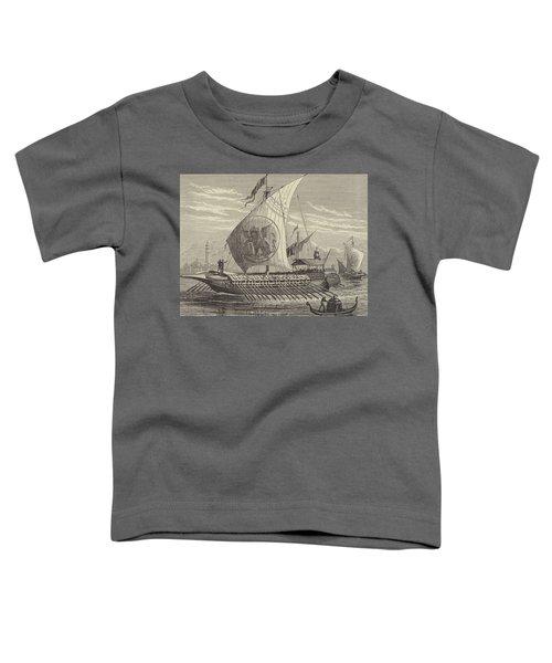 Venetian Galley Toddler T-Shirt