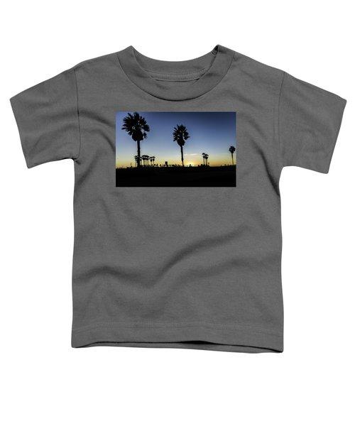 Toddler T-Shirt featuring the photograph Venice Beach Skatepark by Chris Cousins