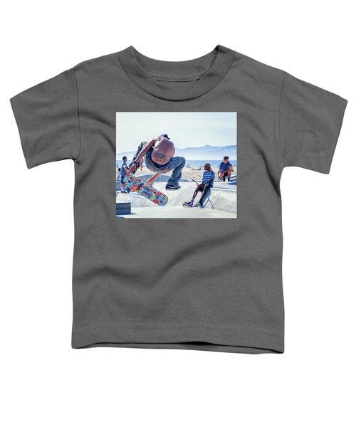 Venice Beach Skater Toddler T-Shirt