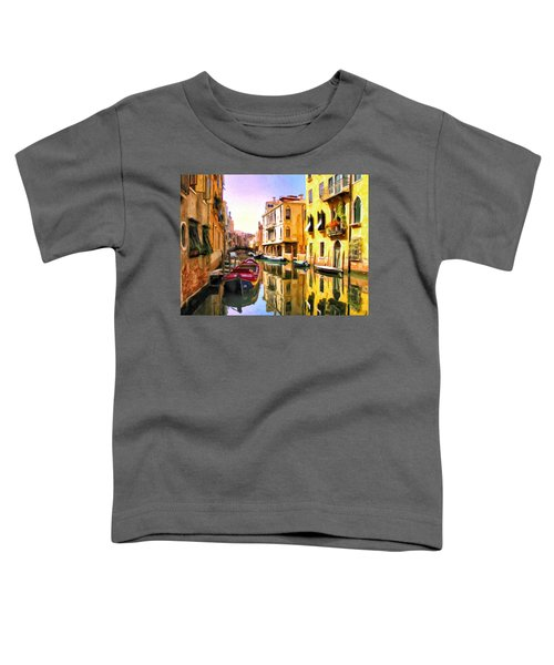 Venice Morning Toddler T-Shirt