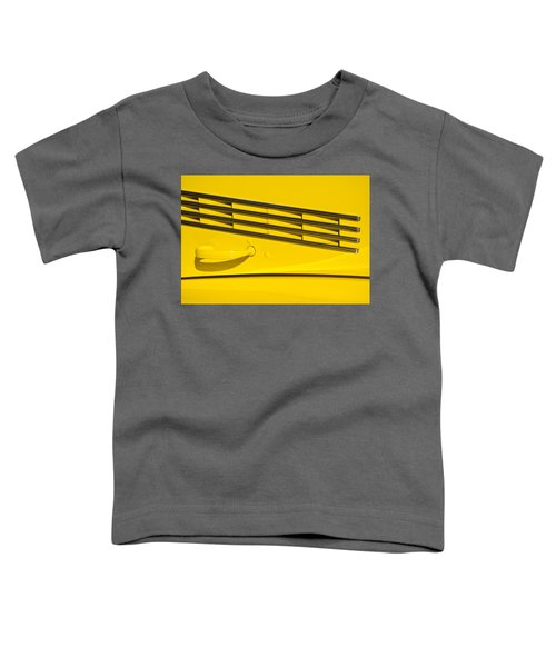 Vented Chrome To Yellow Toddler T-Shirt