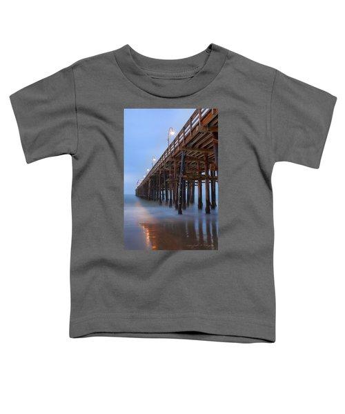 Ventura Ca Pier At Dawn Toddler T-Shirt