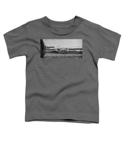 Ventura Pier El Nino 2016 Toddler T-Shirt