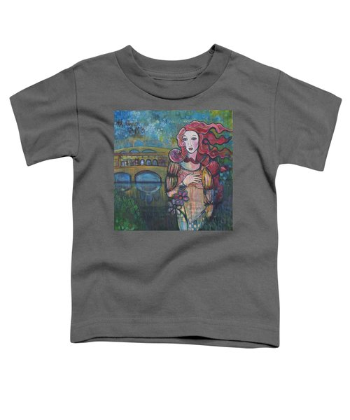 Venus And The Ponte Vecchio  Toddler T-Shirt