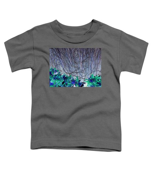 Venus Blue Botanical Toddler T-Shirt