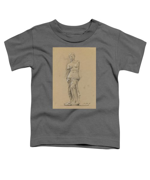 Venus De Milo Toddler T-Shirt