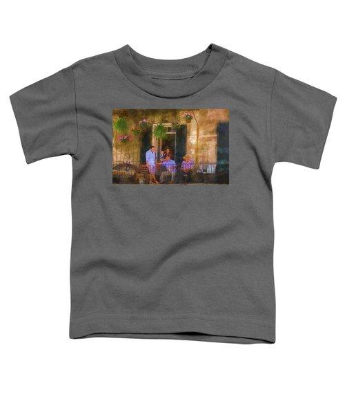 Veranda Bleue Toddler T-Shirt