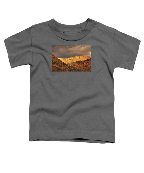 Verde Canyon View Txt Toddler T-Shirt