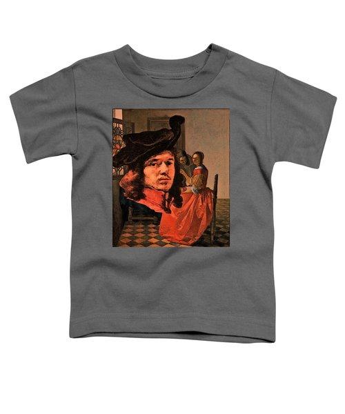 Vermeer Study In Orange Toddler T-Shirt