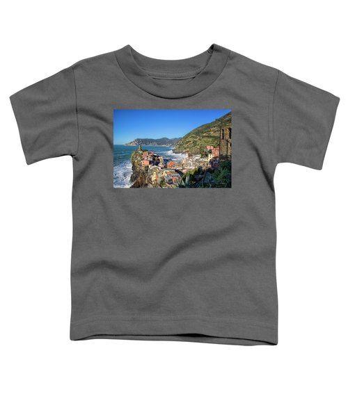 Vernazza In Cinque Terre Toddler T-Shirt