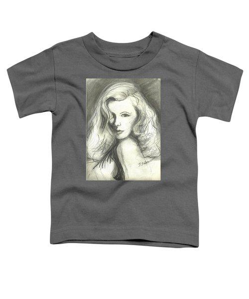 Veronica Lake Toddler T-Shirt
