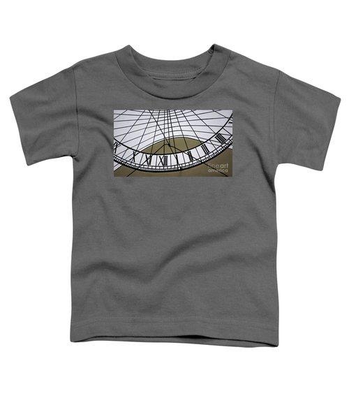 Vertical Sundial - Vertikale Sonnenuhr Toddler T-Shirt