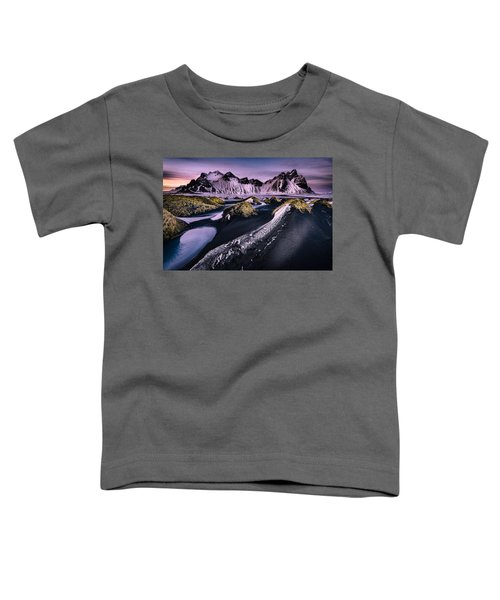 Vestrahorn, South Iceland Toddler T-Shirt