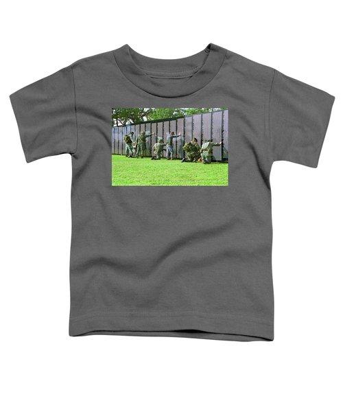 Veterans Memorial Toddler T-Shirt