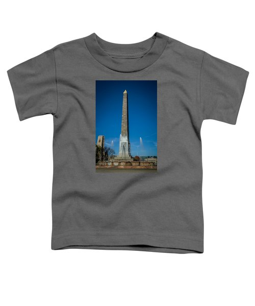 Veteran's Memorial Plaza Toddler T-Shirt