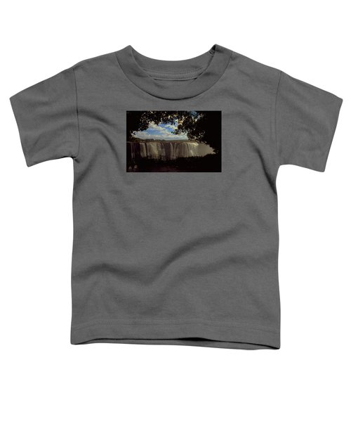 Toddler T-Shirt featuring the photograph Victoria Falls, Zimbabwe by Travel Pics