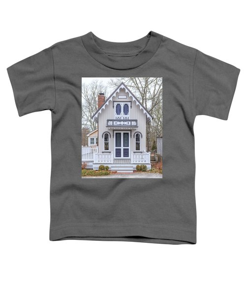 Victorian Cottage On Cape Cod Toddler T-Shirt